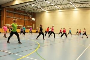 Aerobic hälstrech beskuren